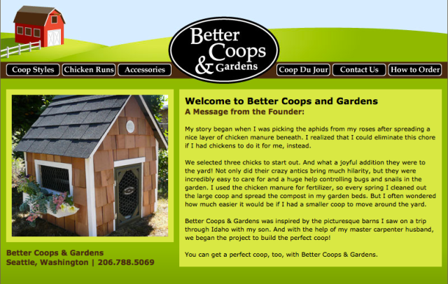 Better Coops and Gardens